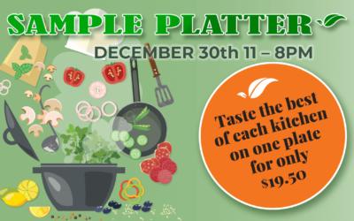 Appie Day Sample Platter