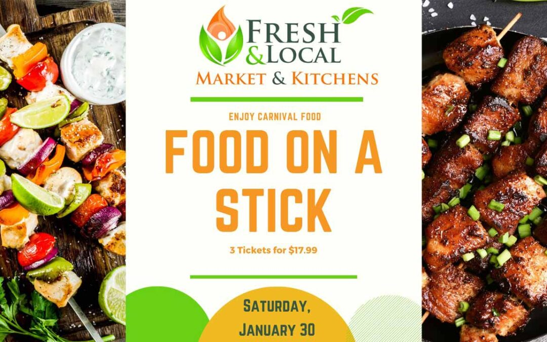 Food on a Stick Event