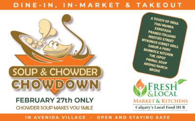 Soup & Chowder Chowdown