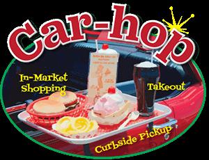 Car-Hop at Market + Kitchens