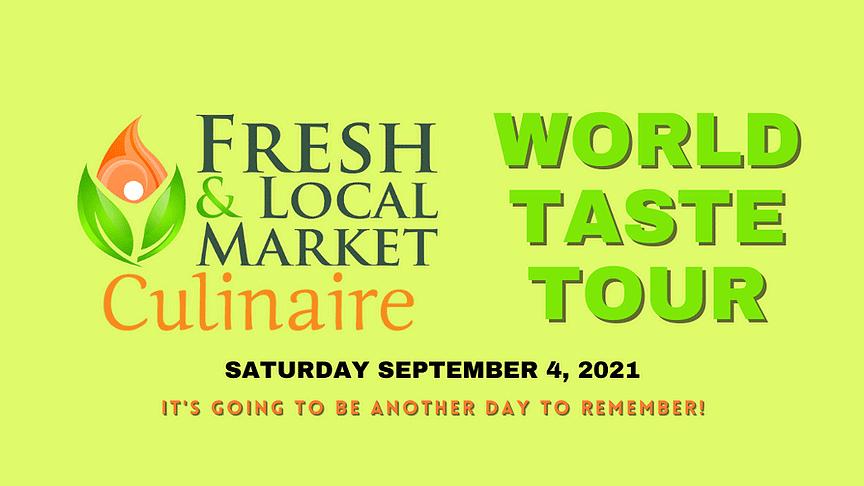 Culinaire World Taste Tour September 2021